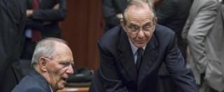 """Eurogruppo: """"Deficit peggiorato, debito alto e rischi anche con la flessibilità: ora l'Italia preveda misure addizionali"""""""
