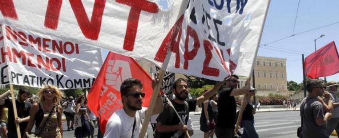 Grecia, sciopero generale contro austerity di Tsipras. Troika di nuovo ad Atene
