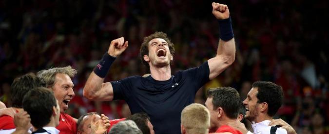 Coppa Davis, Murray batte Goffin e la Gran Bretagna trionfa dopo 79 anni