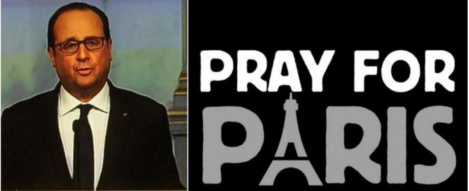 """#Parigi sotto attacco: 13 novembre 2015, un ostaggio """"fate presto, stanno uccidendo tutti"""", su Twitter #prayforparis"""