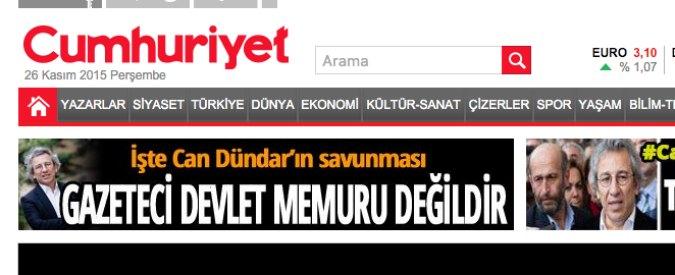 Turchia, arrestati caporedattore e direttore del quotidiano di opposizione Cumhuriyet