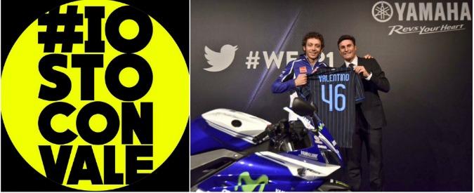 Valentino Rossi, a Valencia rimonta impossibile? Non per i tifosi #iostoconVale