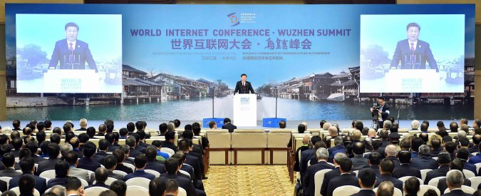 """Internet, la conferenza mondiale ancora in Cina. Xi Jinping rivendica la """"sovranità sulla rete"""". E il Nyt viene escluso"""