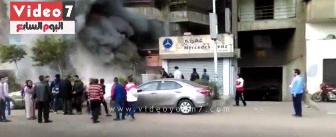Egitto, al Cairo bomba molotov contro un night club: almeno 16 morti (VIDEO)