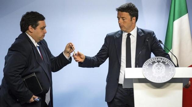Eurosummit - Conferenza stampa di Renzi dopo accordo su crisi Grecia