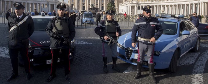 Giubileo, Roma blindata: 2000 agenti in tutta la città e il Vaticano diventa zona rossa