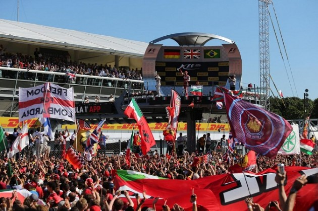 Formula 1 GP Monza - La gara