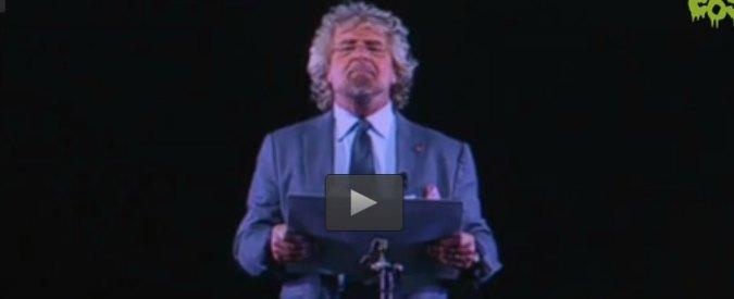 """Beppe Grillo, contro-discorso di fine anno: """"Mattarella è l'ologramma di un ologramma"""""""