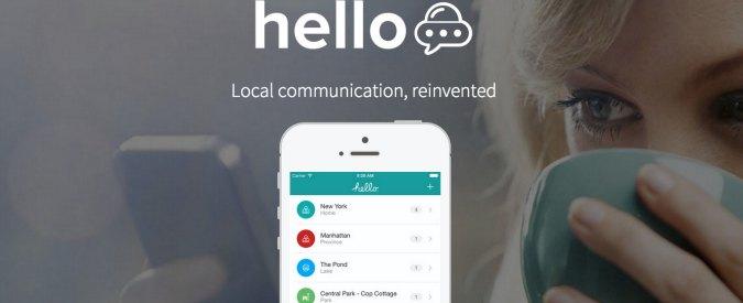 Da New York a Milano: app per scoprire via gps persone e luoghi (anche in chat)
