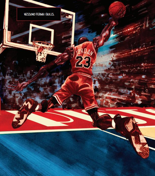 Michael Jordan a fumetti