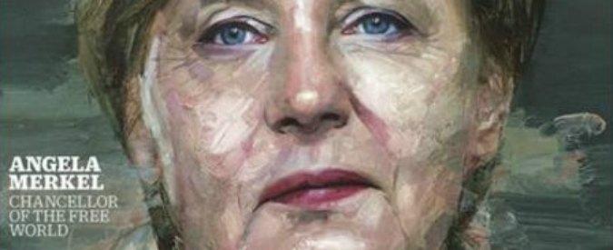 """Angela Merkel personaggio dell'anno secondo il Time: """"Cancelliera di un mondo libero"""""""