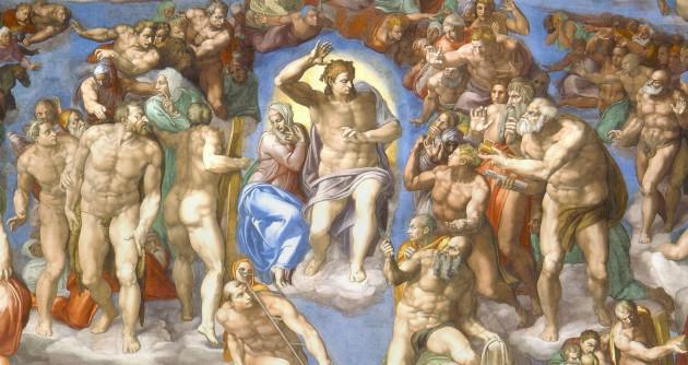 Michelangelo-Giudizio universale