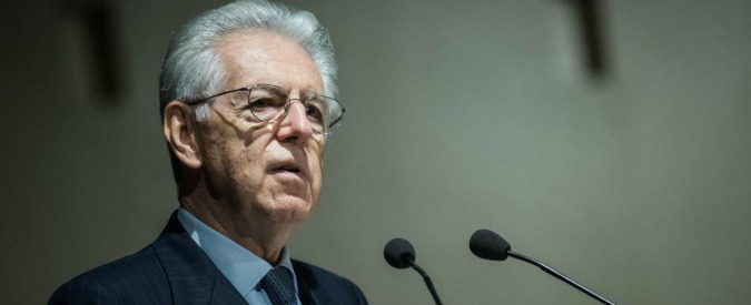 """Banche, Monti: """"Quando ero premier nessuno chiedeva salvataggi. Abbiamo ridato solidità ai titoli di Stato"""""""