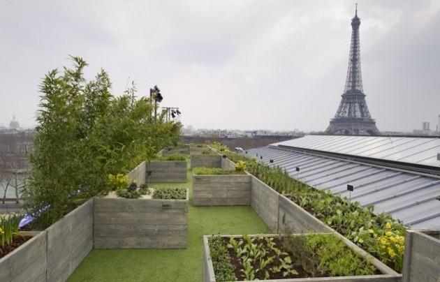 Parigi-tetto verde