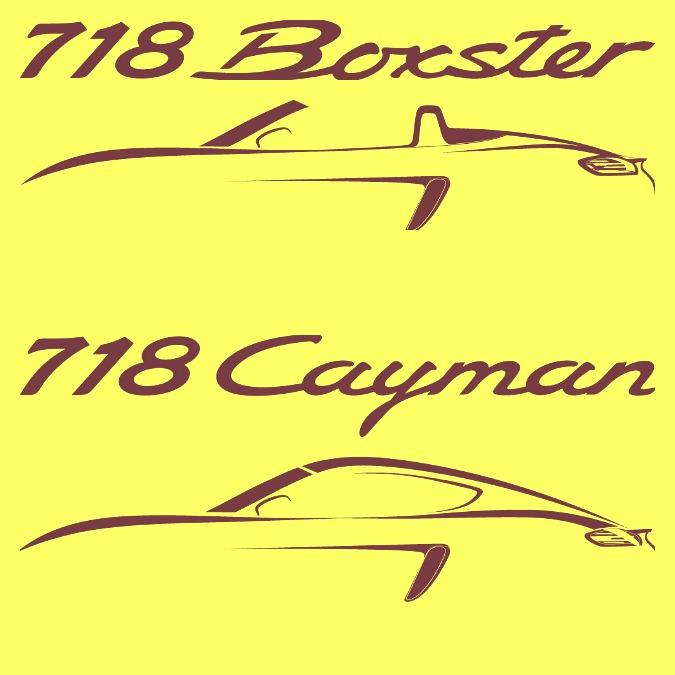 Porsche 718 Boxster e 718 Cayman, un numero in onore della sportiva anni 50