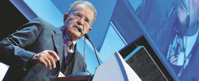 """Siria, Romano Prodi: """"I bombardamenti possono essere strumento provvisorio ma non portano mai pace"""""""