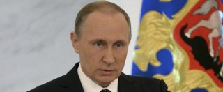 """Putin: """"Spero non siano necessarie armi nucleari contro l'Isis"""". Turchia: """"Russia fa pulizia etnica in Siria"""""""