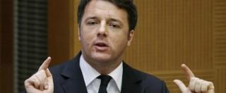 """Renzi, sì al super-commissario ma insiste: """"La Ue sbaglia, di sola austerity si muore"""""""