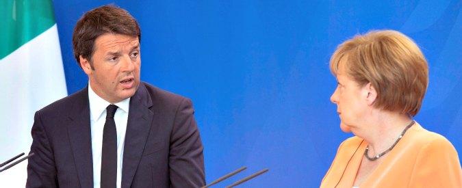 Flessibilità, davanti alla Merkel Renzi abbassa i toni. E ridimensiona la contesa con la Ue a soli 280 milioni