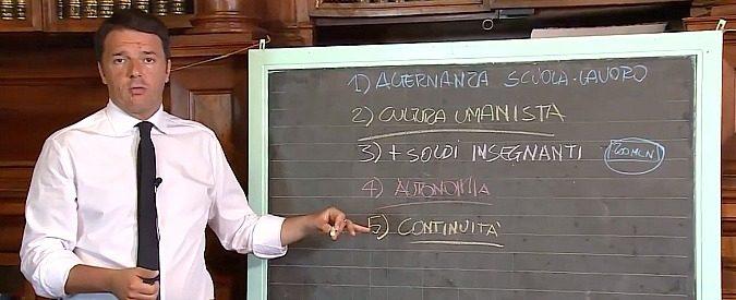 Da ricercatrice dico: caro Renzi, non basta salire in cattedra per fare il professore