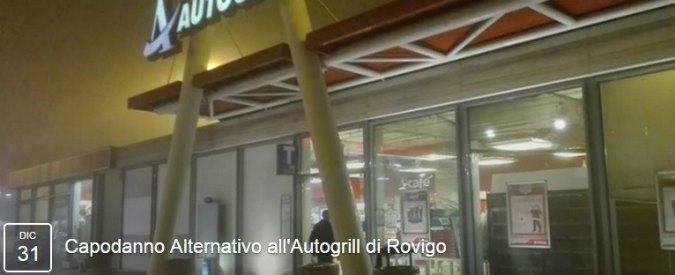 """Capodanno in autogrill a Rovigo: migliaia di adesioni all'evento """"scherzo"""" su Facebook, interviene la polizia"""