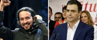 """Elezioni Spagna, Podemos: """"Intesa con Psoe se accetta referendum in Catalogna"""". Rajoy: """"Governo spetta a noi"""""""