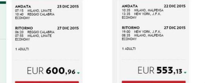 """Alitalia, Milano-Reggio Calabria più costoso di Milano-NY. Rivolta Twitter: """"Voi mette er traffico de fòrisede?"""""""