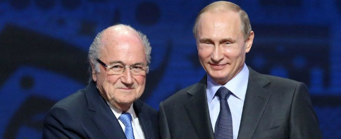 "Vladimir Putin: ""Blatter merita il premio Nobel per la Pace"" – Video"