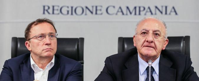 Vincenzo De Luca cambia avvocato a pochi giorni dall'Appello: la sentenza slitta (e la prescrizione è più vicina)