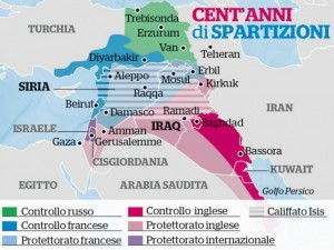 iraq cartina