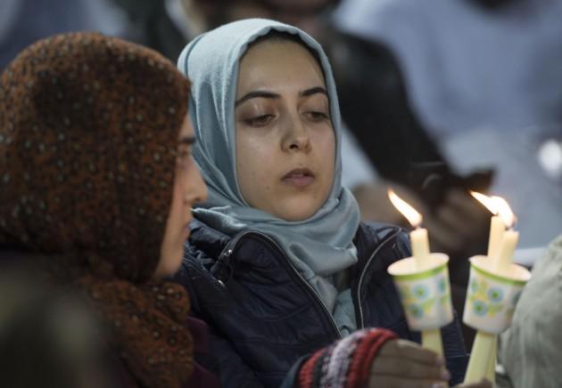 Strage California, veglia in omaggio di vittime San Bernardino