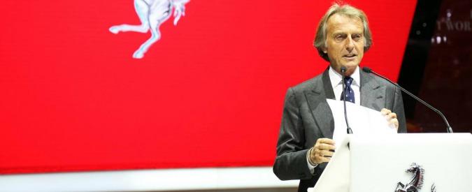 """Ferrari, l'ex presidente Montezemolo: """"E' diventata il bancomat della Fiat"""""""