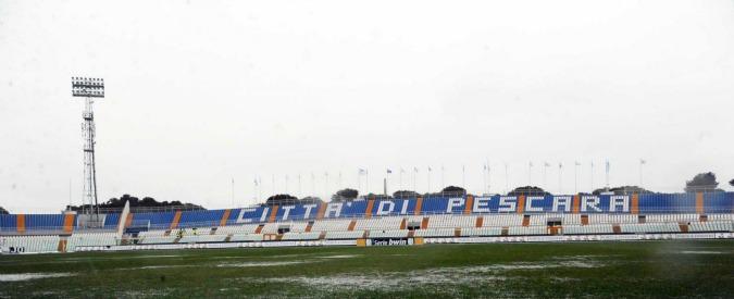 """Pescara, tutto pronto per nuovo stadio da 40 milioni. Ma i Beni Culturali bloccano il progetto: """"Non si possono abbattere le colonne"""""""