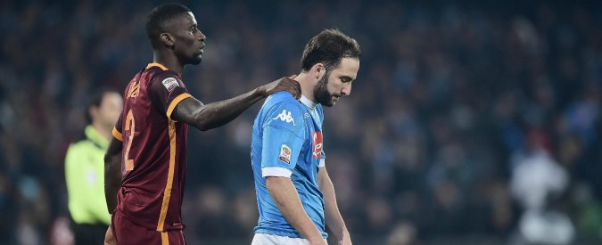 Napoli-Roma 0-0, i giallorossi puntano a contenere, i partenopei non pungono – Video