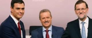Spagna, insulti nel faccia a faccia Rajoy-Sanchez. Iglesias: 'Sembra confronto del '93'