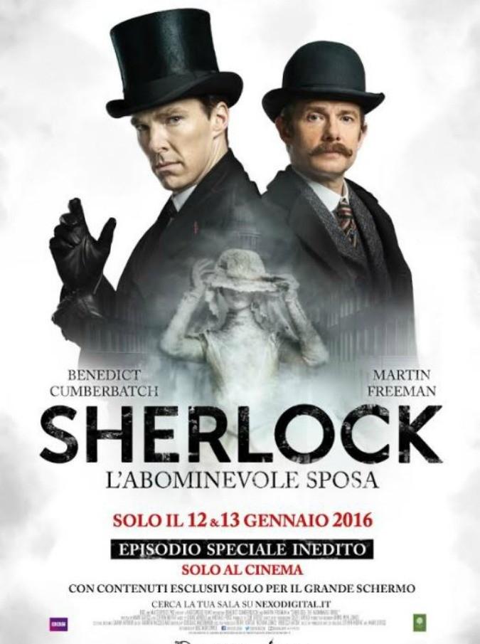 Sherlock, arriva al cinema il 12 e il 13 gennaio la puntata speciale della serie tv con Benedict Cumberbatch