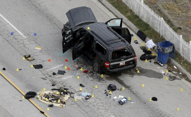 Strage di San Bernardino: gli investigatori FBI al lavoro