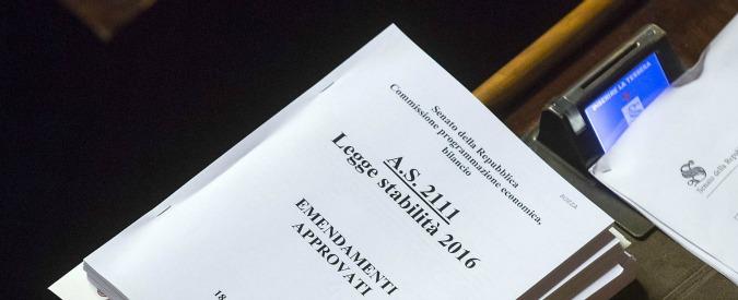 Legge di Stabilità, no tax area fino a 8mila euro per pensionati over 75. Sale a 2,6 miliardi il pacchetto sicurezza-cultura