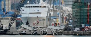 Crollo Torre Piloti, ministeri Trasporti e Difesa citati come responsabili civili nel processo per costruzione a fil di banchina