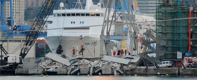 Genova, crollo torre piloti: 5 a processo. Ci sono il comandante della nave e un consigliere della compagnia Messina