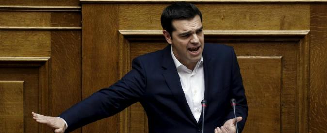 Grecia, Tsipras presenta riforma pensioni: tagli dal 15 al 30% sui futuri assegni