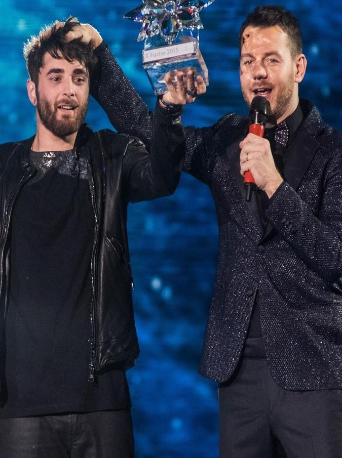 Finale di X-Factor al Mediolanum Forum di Assago a Milano