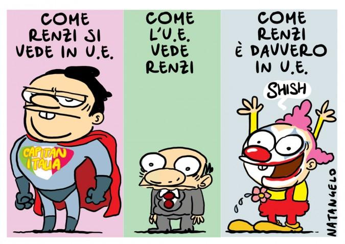 Renzi e L'U.E.