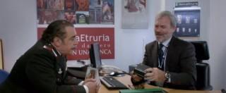 Don Matteo e quello spot Banca Etruria. Con Frassica allo sportello