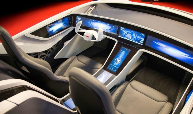 Bosch concept car CES 2016