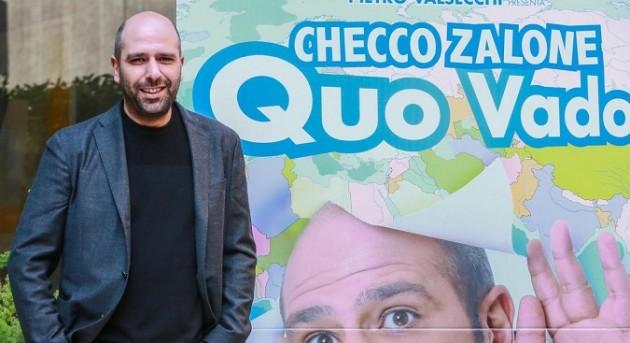 Photocall del film di Checco Zalone Quo Vado
