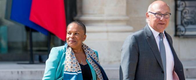 Francia, ministro della Giustizia lascia. Contraria a giro di vite antiterrorismo