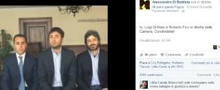 """Quarto. Di Maio, Di Battista e Fico: """"Il sindaco non ci ha mai parlato di ricatto"""". Online gli screenshot dei messaggi"""