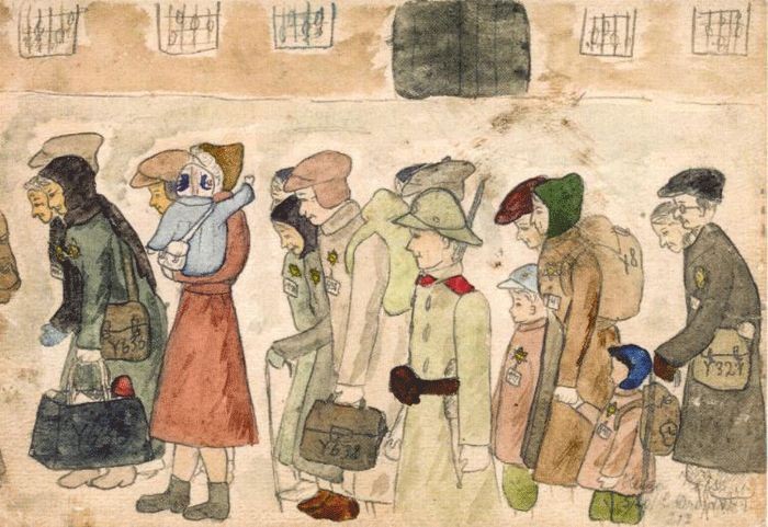 Helga Weissova – Arrivo a Terezin