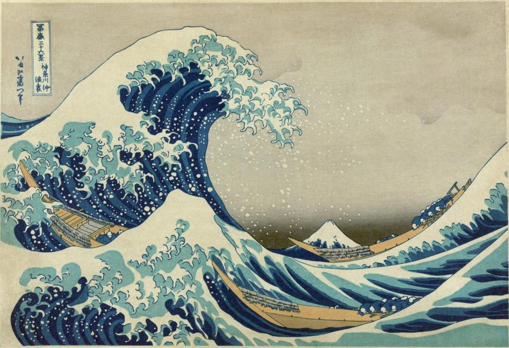 Hokusai_Great Wave off Kana